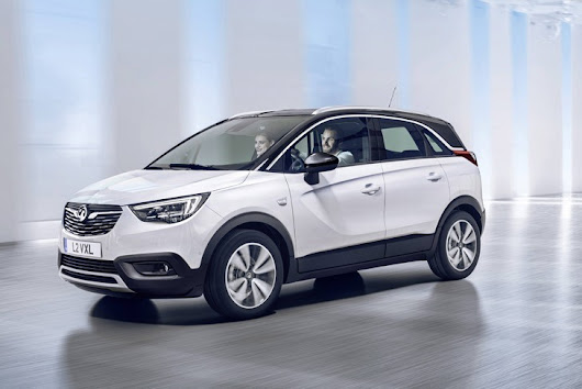 Vauxhall Reveals All-New Crossland X SUV