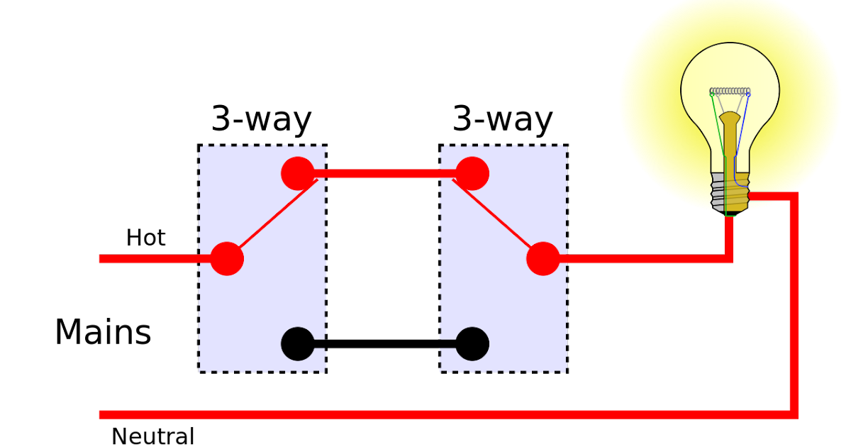 Diagram For A 3 Way Light Switch