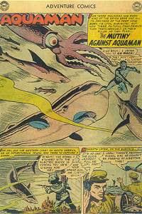 Adventure #241 Aquaman Splash Page
