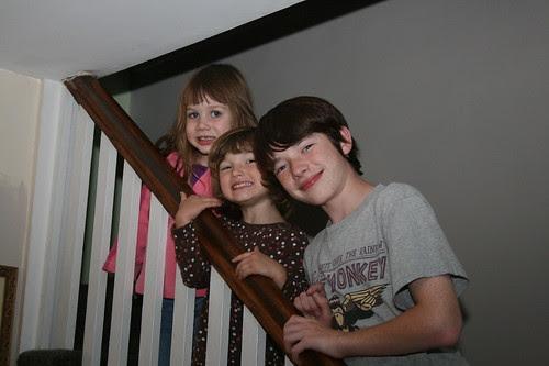 The girls and Matt