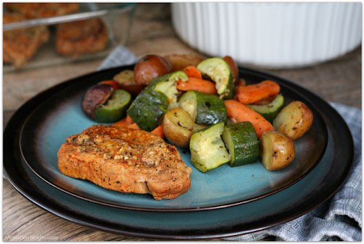 Instant Pot Spice-Rubbed Boneless Pork Chops with Veggies
