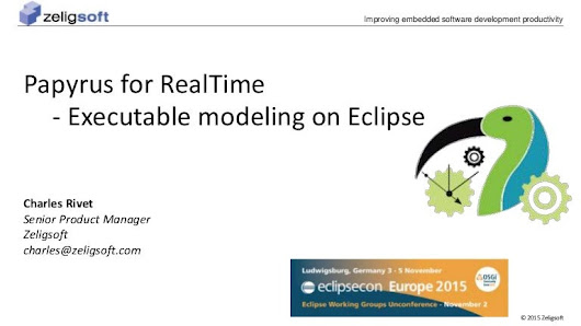 Papyrus for RealTime - Executable Modeling on Eclipse