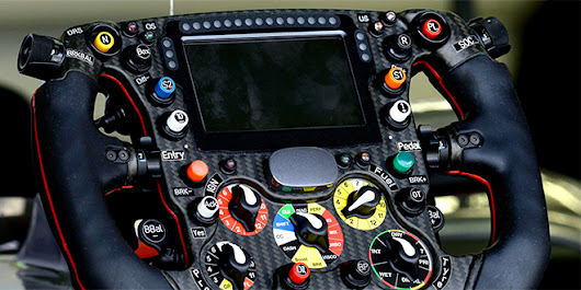 An Inside Look at the Insanely Complex Formula 1 Steering Wheel | Autopia | WIRED