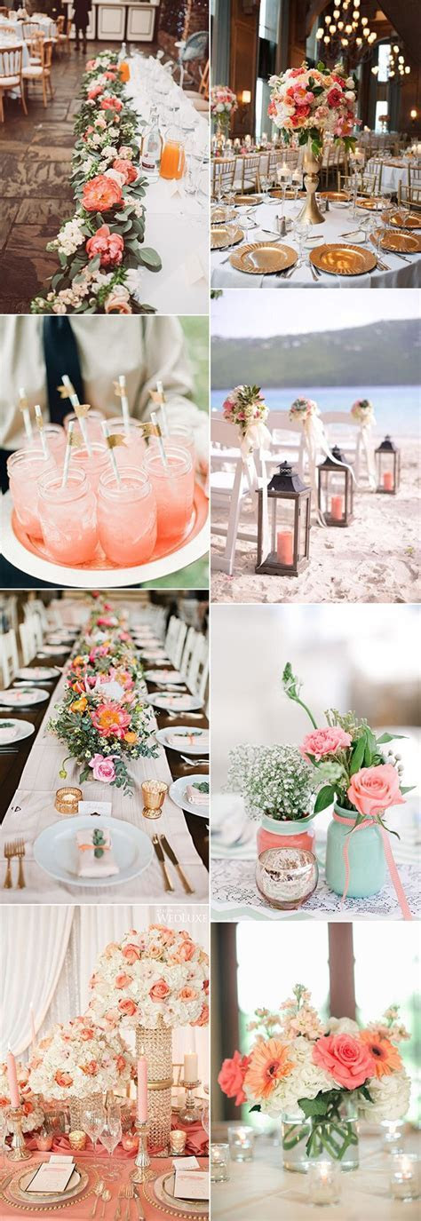 Pantone Color of the Year 2019: 26 Living Coral Wedding