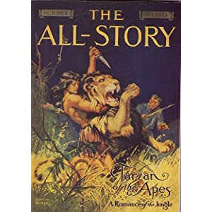The All-Story Magazine October 1912: Tarzan of the Apes, A Romance Of The Jungle