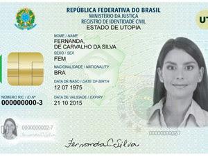 Nova carteira de identidade nacional