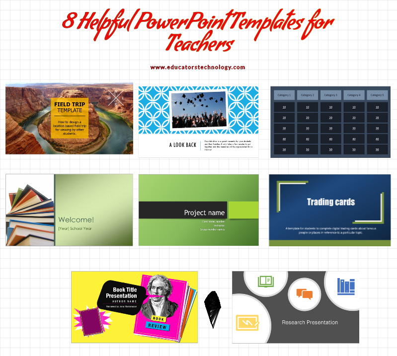 8 Helpful PowerPoint Templates for Teachers