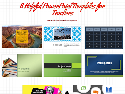 Pre-made Power Point Templates for Teachers