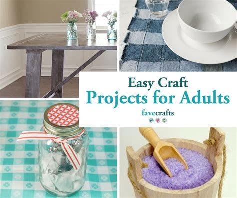 easy craft projects  adults favecraftscom