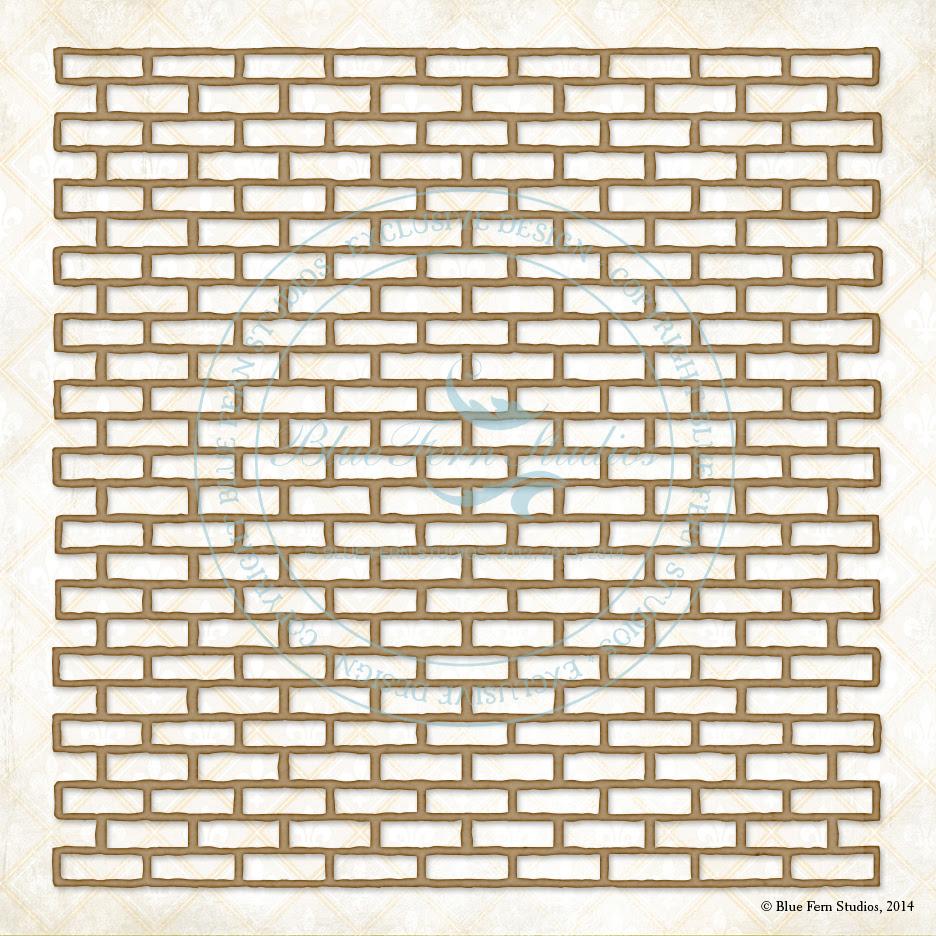 Shabby Brick Panel