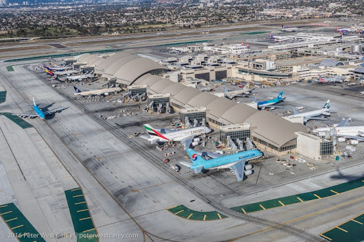 Photo Of The Day – Bradly International Terminal at LAX Aerial