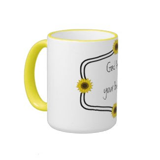 God has your back quote Mug