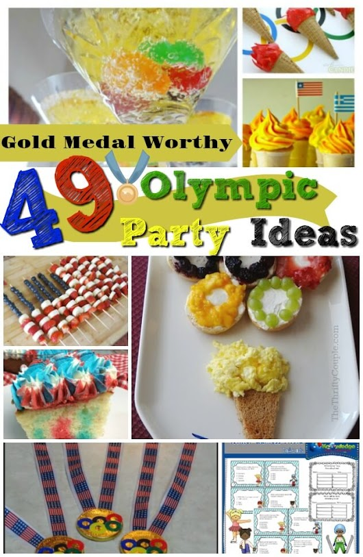 49 Gold Medal Worthy Olympics Foods, Games and Party Ideas