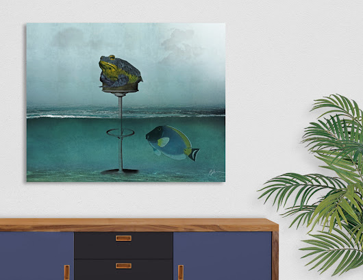 «Toadstool», Numbered Edition Acrylic Glass Print by Galen Valle - From $69 - Curioos