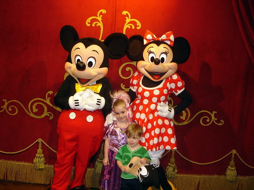 With Mickey & Minnie