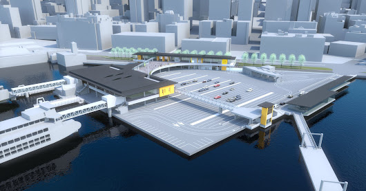 Ferry schedules changing for Colman Dock work