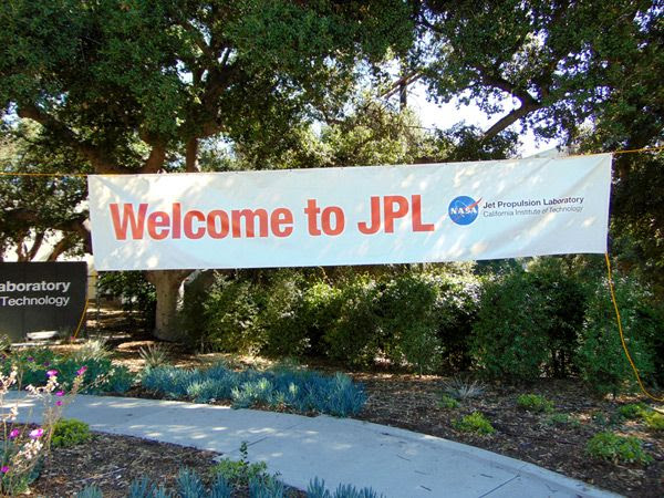 Attending the Explore JPL event near Pasadena, California...on May 20, 2017.