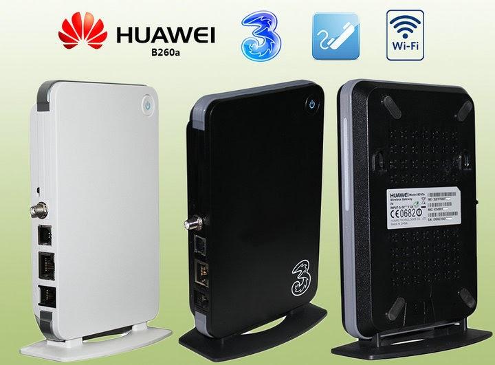 Update Firmware Huawei B260a
