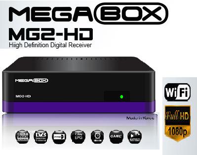 ATUALIZAÇÃO MEGABOX MG2 HD – 25/03/2014