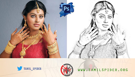 Photoshop cs6: How To Create a Pencil Drawing From a Photo | Line Drawing Effect