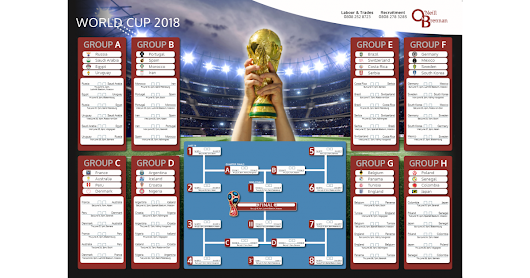 Download our World Cup 2018 Wall Planner here!