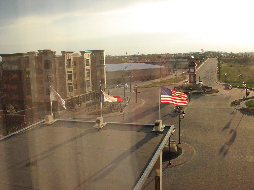 The view from my window:   Coralville, Iowa