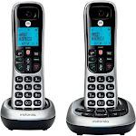 Motorola CD4012 Cordless Telephone - 2 Handsets