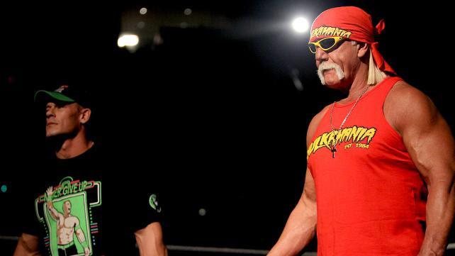 John Cena o młodych talentach oraz o możliwej walce z Hulkiem Hoganem