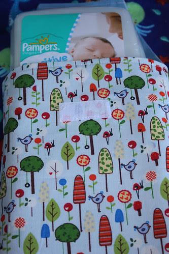 Diaper Clutch for Baby Radder