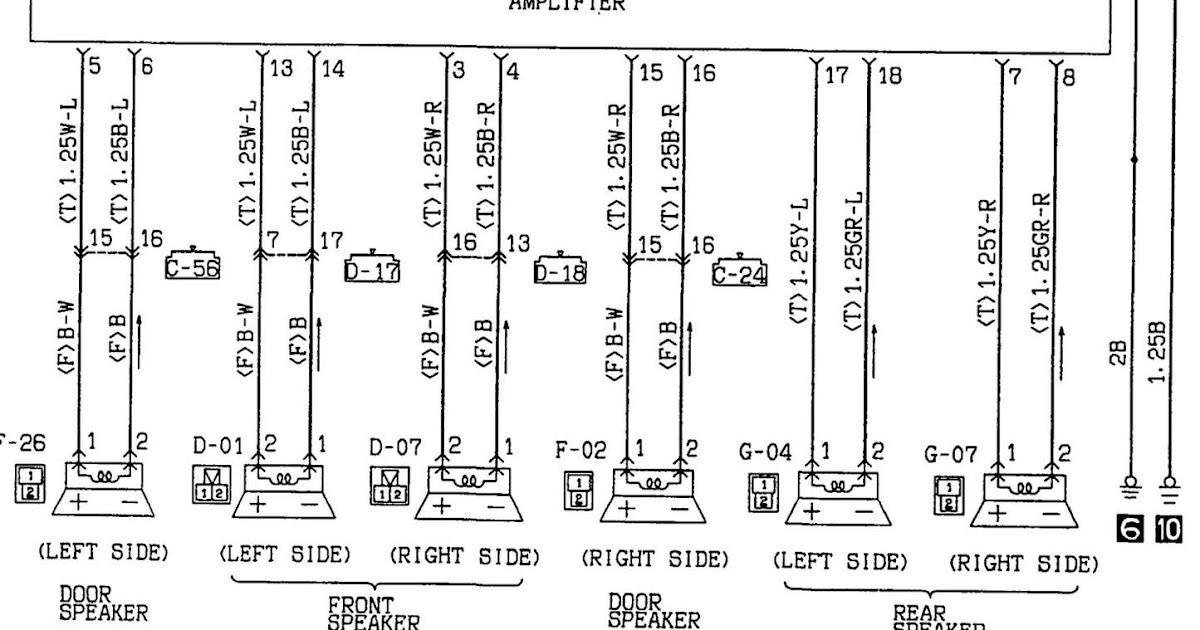 YST Download 2002 Mitsubishi Diamante Radio Wiring Diagram