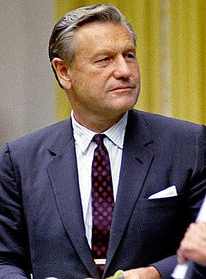 Nelson Rockefeller, former Vice President of t...
