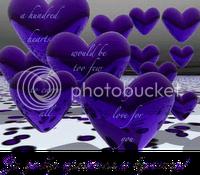 100 Purple Hearts Award