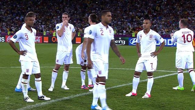 England 0-0 Italy (2-4 pens)