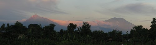 Merapi Merbabu Panorama