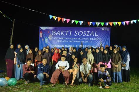 bakti sosial magang forum kajian ekonomi islam