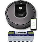 iRobot Roomba 960 Robot Vacuum Bundle and Robot XLife Extended Life Battery