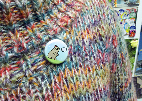 Groundhog Day Shadow Badge