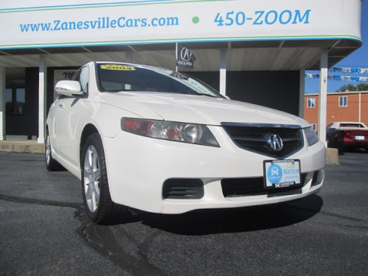 2004 Acura Tsx 5-speed AT for sale at Car Nation | Used Cars Zanesville