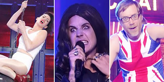 'Lip Sync Battle' Comes To The UK: See The Best Showdowns From The US Version, Including Justin Bieber, Anne Hathaway And Channing Tatum