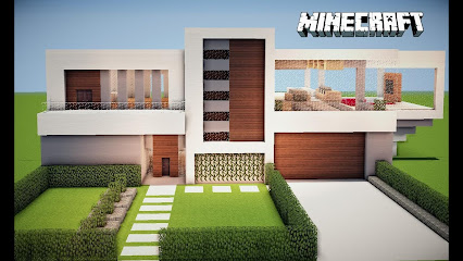 Extremize gamer google for Casas modernas grandes minecraft