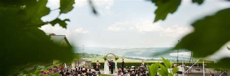Wine Country Weddings & Receptions in Finger Lakes Wine