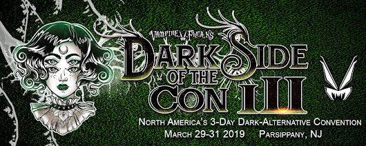 Dark Side Of The Con 2017 | A gothic festival in Piscataway, NJ
