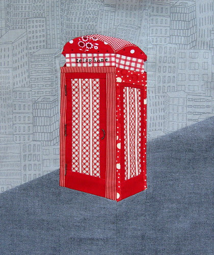 london phone booth for Kylie
