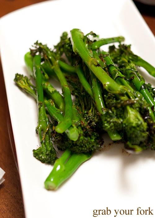 charcoal broccolini