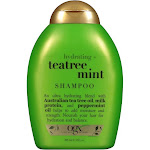 Organix Hydrating Tea Tree Mint Shampoo - 13 fl oz bottle