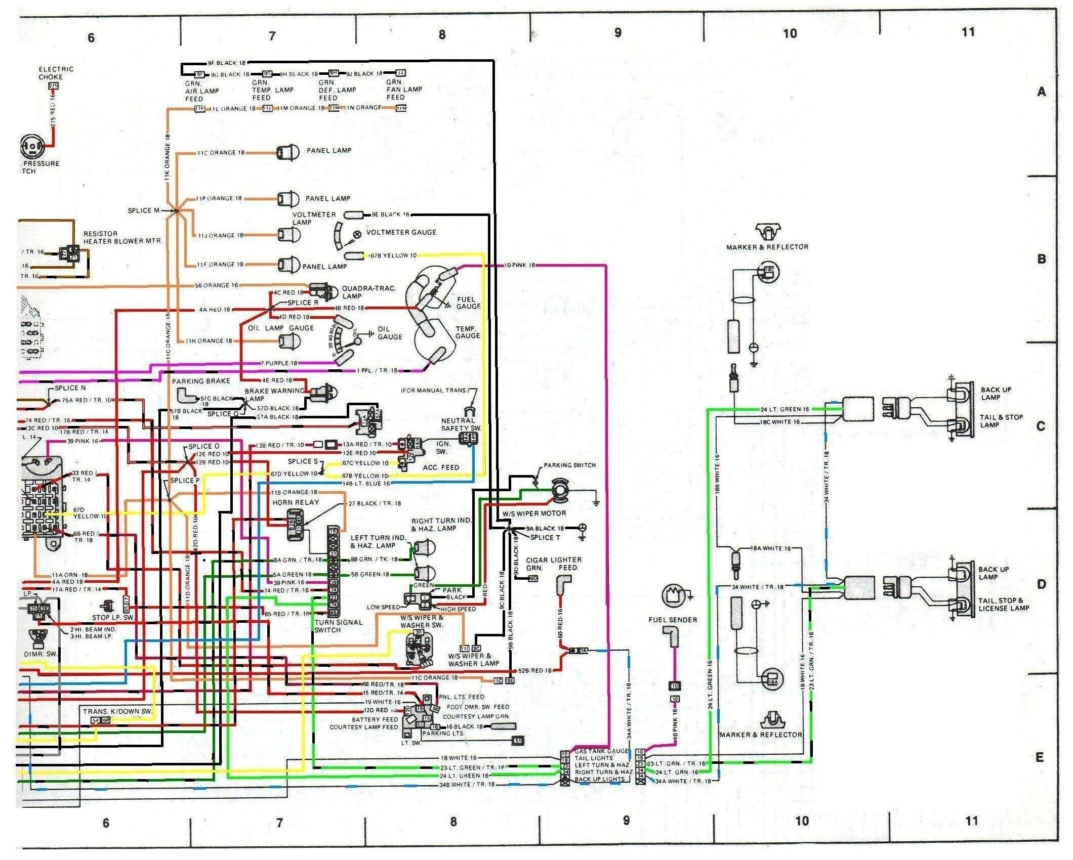 Cj Tachometer Wiring - Wiring Diagram | Cj7 Tachometer Wiring Diagram |  | Wiring Diagram