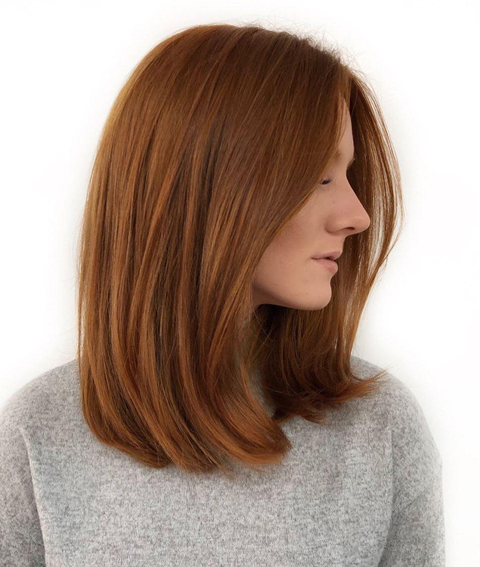 40 Medium Length Hairstyles for Thick Hair ⋆ Palau Oceans