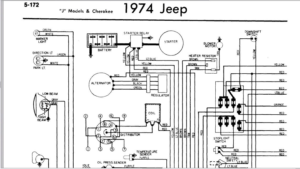 1974 jeep cj5 wiring - krish.playnovecento.it  electrical wiring diagram