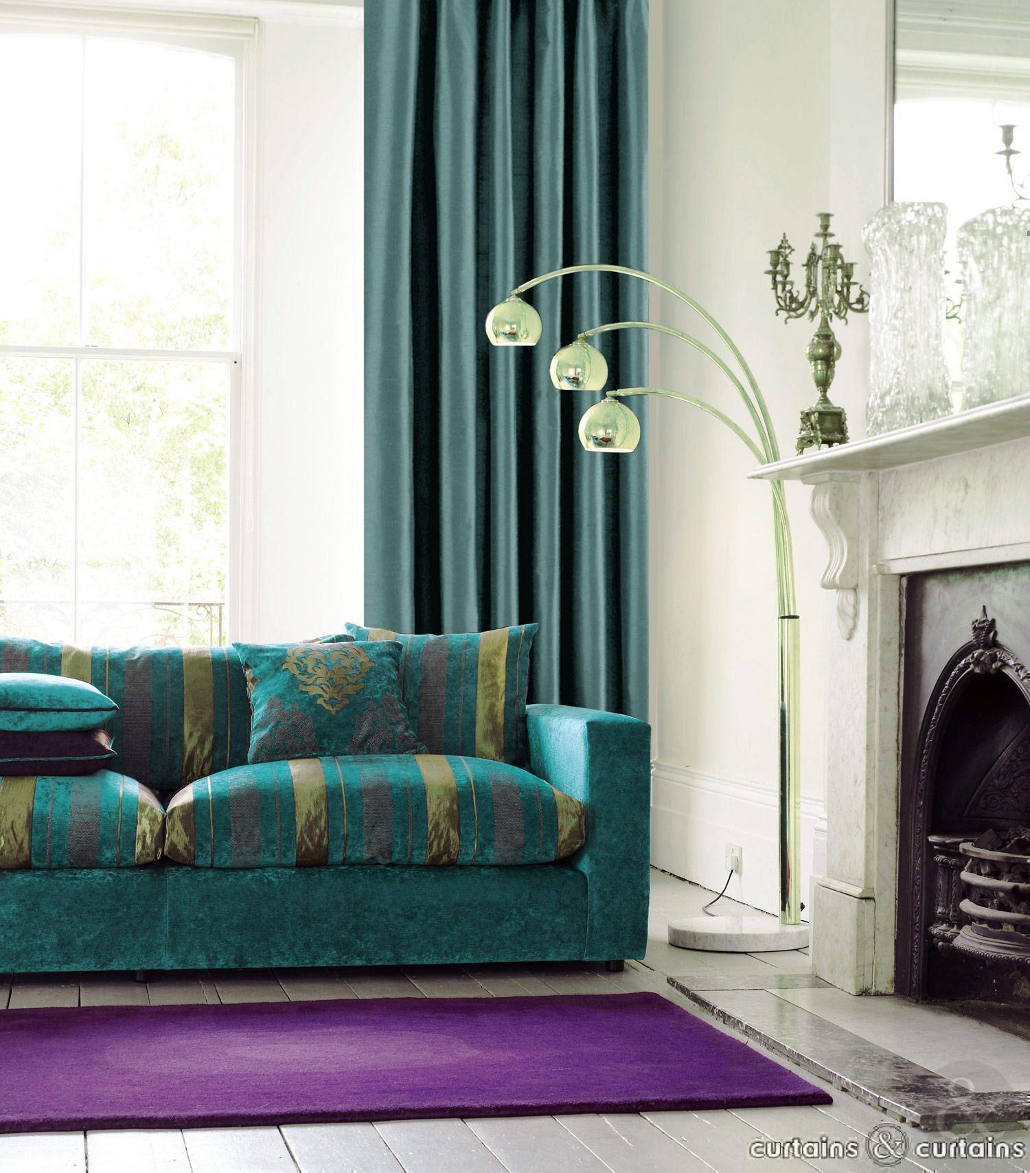 Teal Living Room Decor – HomesFeed