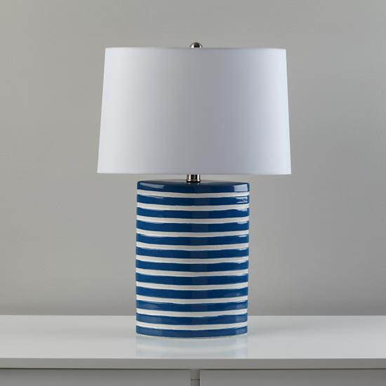 Kids Lighting: Blue Nautical Table Lamp in Table Lamps | The Land ...